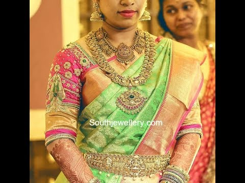 7154880605 south Indian bridal wedding sarees collection 2018 /latest bridal sarees  collection 2018