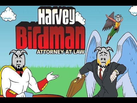 Harvey Birdman: Attorney at Law - 3 Gamer Goats Gruff