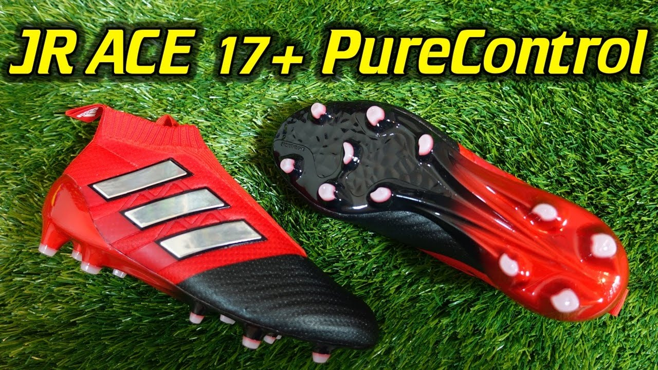 8d21006ee12 Junior Adidas ACE 17+ PureControl (Red Limit Pack) - Review - YouTube