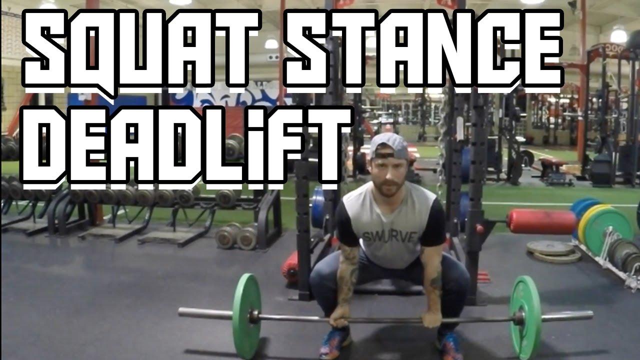 b49d769610f7fc Sumo Deadlift  Squat Stance Supplement - YouTube