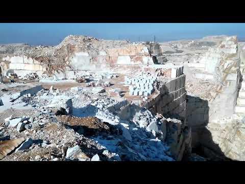 Amazing Marble Mine In Turkey