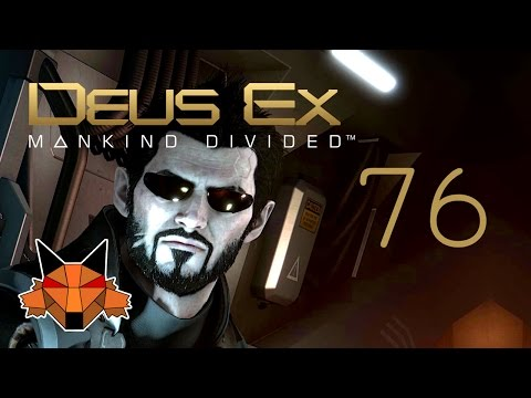 Let's Play Deus Ex Mankind Divided [PC/Blind/1080P/60FPS] Part 76 - Palisade with a Purpose
