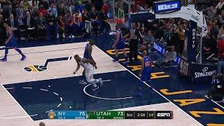 3rd Quarter, One Box Video: Utah Jazz vs. New York Knicks
