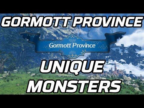 [Xenoblade Chronicles 2] Unique Monsters Gormott Province