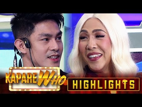 Vice asks Ion if he winks at other girls | It's Showtime KapareWHO