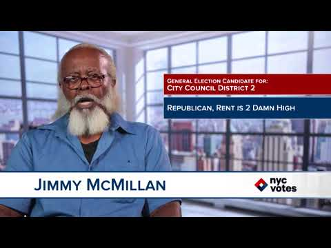 Jimmy McMillan: Candidate for Council District 2