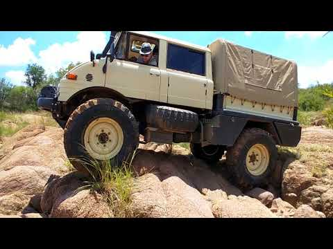 The Unimog Experience - Dry Riverbed, South Africa [Good sound]