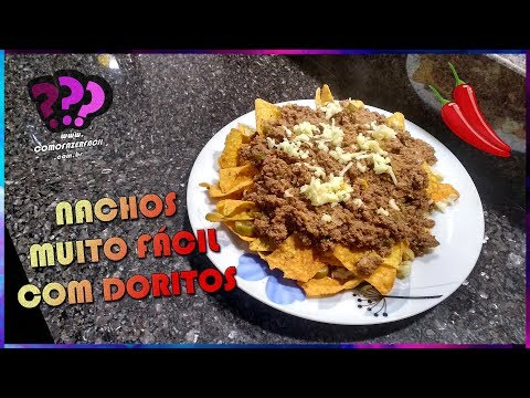 COMO FAZER NACHOS SIMPLES COM DORITOS | Como Fazer Fácil #Receitas 68 #Doritos