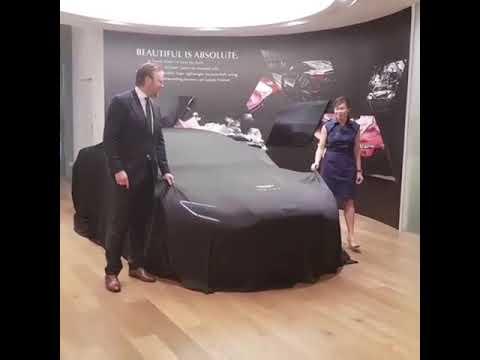 New Aston martin superleggera 2019 music behind