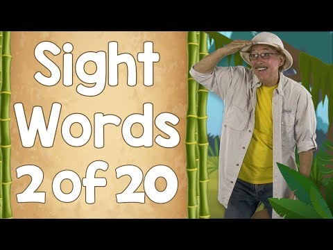 Ready to Read Sight Words | List Two | Jack Hartmann