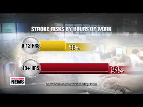 Working overtime doubles stroke risks study