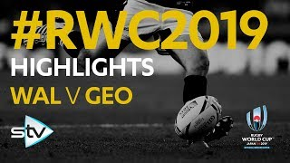 Wales v Georgia (43-14) | Rugby World Cup 2019 Highlights
