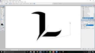 كيفية إنشاء / جعل (L) الشعار على أدوبي فوتوشوب 7.0