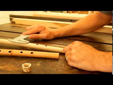 How To Make A 4 Hole Native American Flute Youtube