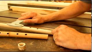 How To Make A 4 Hole Native American Flute