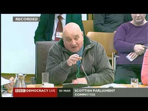 "Denis Curran on Food Banks ""People are getting penalised for being poor"""