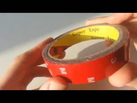 Strong Permanent 3Meter Double Sided Super Sticky Tape Roll For Vehicle from Banggood