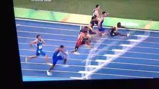 ФИНАЛ 110 метров С\Б Олимптида Рио 2016