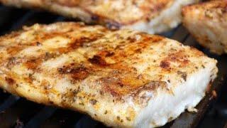 РЫБА на мангале/Как приготовить шашлык из рыбы
