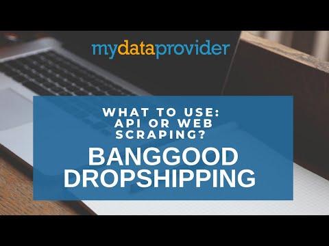 Banggood API, dropshipping with Banggood, banggood api woocommerce