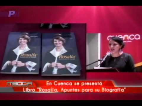 En Cuenca se presentó Libro Rosalía, Apuntes para su Biografía
