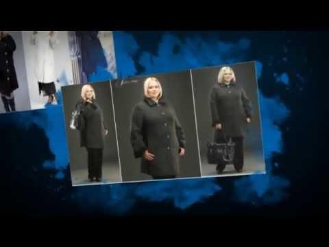 Модные пальто для полных женщин. Осень-Зима