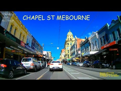 melbourne australia chapel street youtube. Black Bedroom Furniture Sets. Home Design Ideas