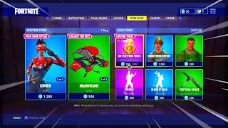 Fortnite ITEM SHOP April 12 2018! NEW Featured items and Daily items! (FORTNITE ITEM SHOP TODAY)