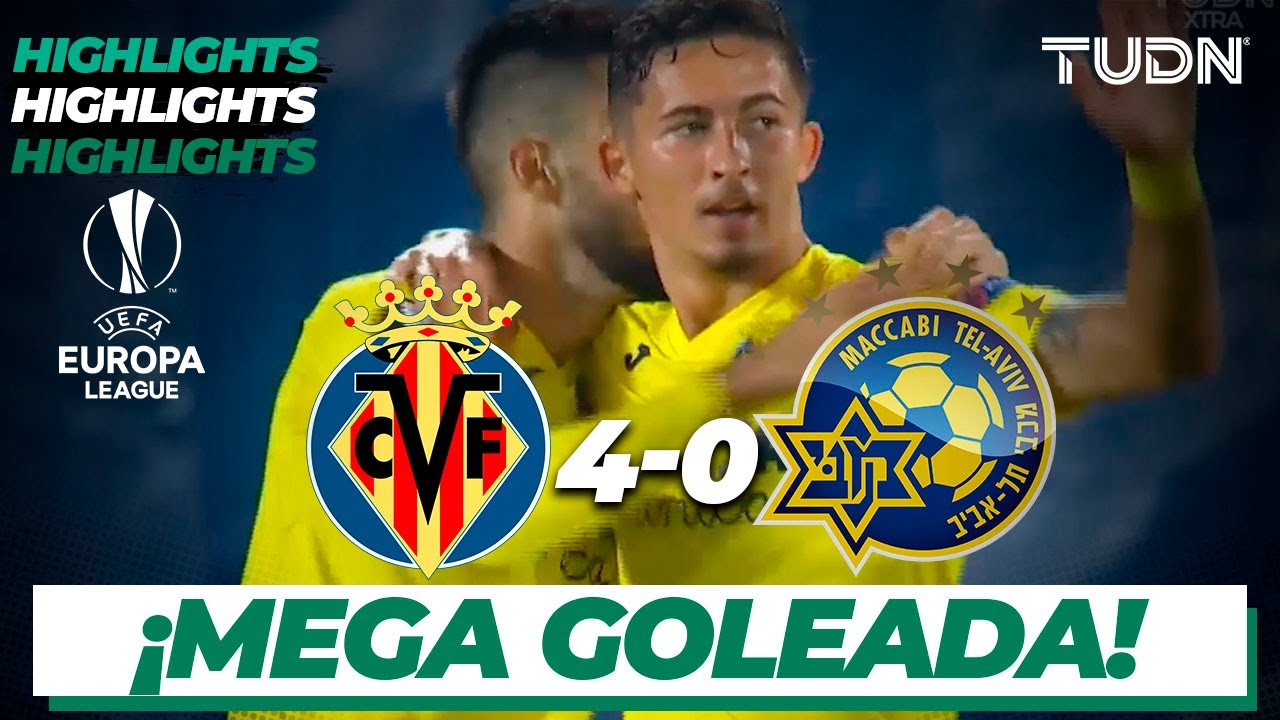 Highlights | Villarreal 4-0 Tel Aviv | Europa League 2020/21 - J3 | TUDN