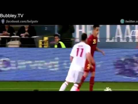 Adnan Januzaj Individual Highlights   International Debut   Belgium vs Luxembourg 5 1   HD   6