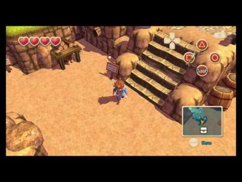 Oceanhorn: Monsters Of Uncharted Seas PSVITA Beginning