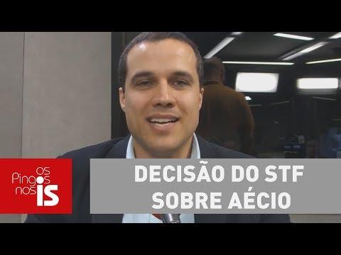 Felipe Moura Brasil: Caso Picciani Confirma O Mal Da Decisão Do STF Sobre Aécio