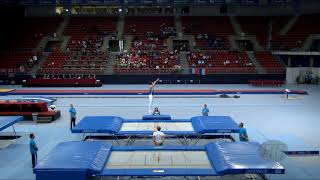 Gambar cover GAUDRY Blake (AUS) - 2017 Trampoline Worlds, Sofia (BUL) - Qualification Trampoline Routine 2