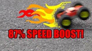 Tyco Rebound Overvolting 2: Wheelie Flips!