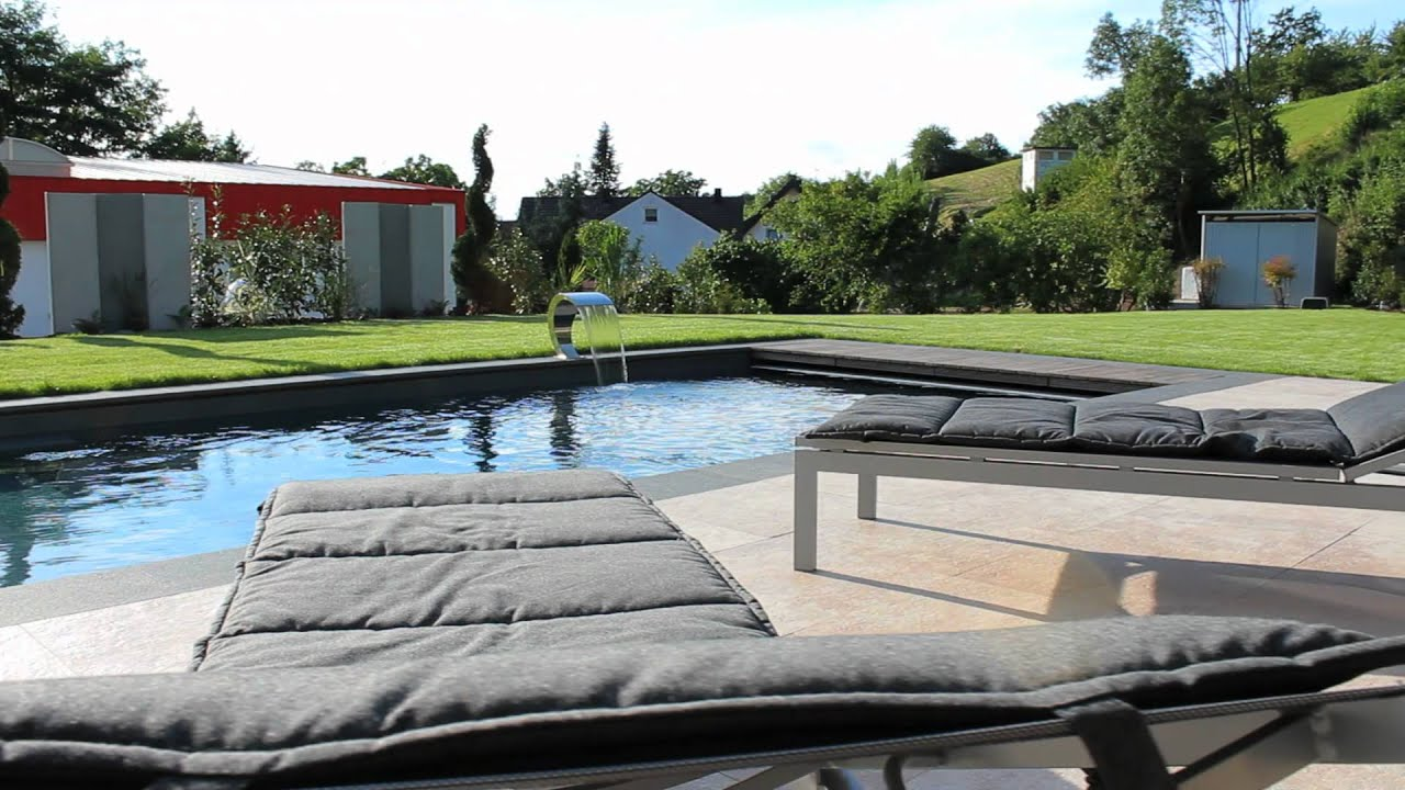 poolgarden moderne pools und g rten youtube. Black Bedroom Furniture Sets. Home Design Ideas