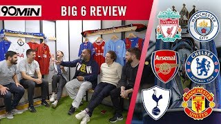 PREMIER LEAGUE REVIEW |THE BIG 6| Liverpool's to lose! Man Utd fighting relegation!? Spurs in Crisis