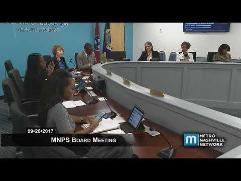 09/26/17 MNPS Board Meeting