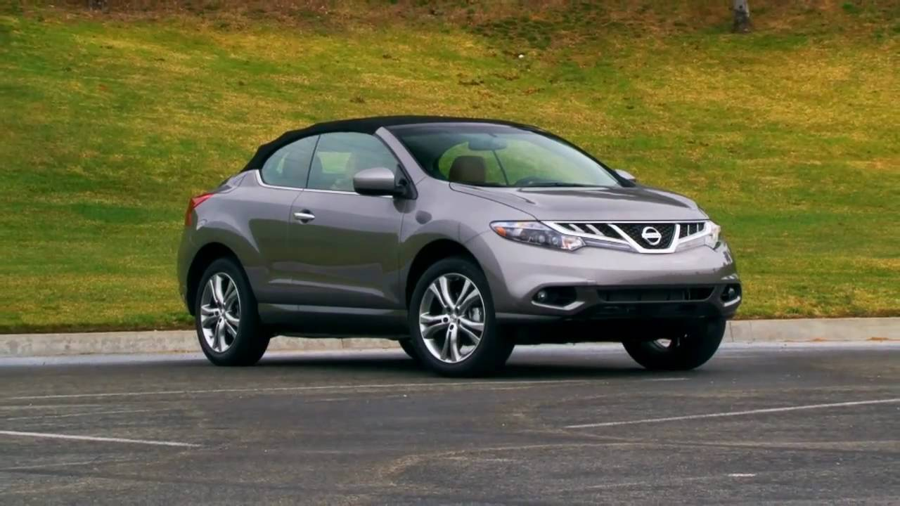 2011 nissan murano cross cabriolet first test youtube. Black Bedroom Furniture Sets. Home Design Ideas