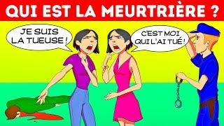 10 ÉNIGMES CRIMINELLES ET MYSTÉRIEUSES À TE GLACER LE SANG ! 🙀