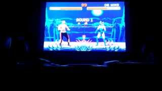 Mortal Kombat II - Kitana Gameplay w/ Klassic Fight Stick (Arcade) [HD]