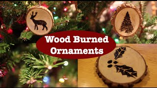 Diy Wood Burned Ornaments Project (darby Smart) \\ Gardenstreet