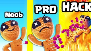PINCHING with MAX LEVEL CURSED VOODOO DOLLS?! (Voodoo Doll) (NOOB vs PRO vs HACK) screenshot 3