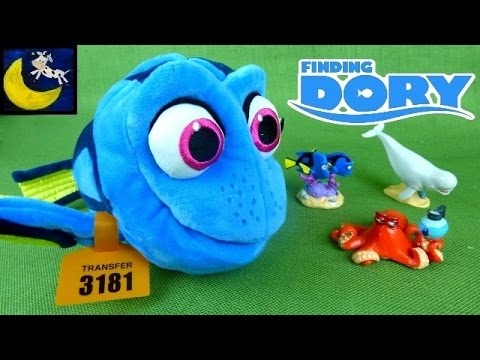 finding dory toys deluxe feature talking moving dory plush toy with