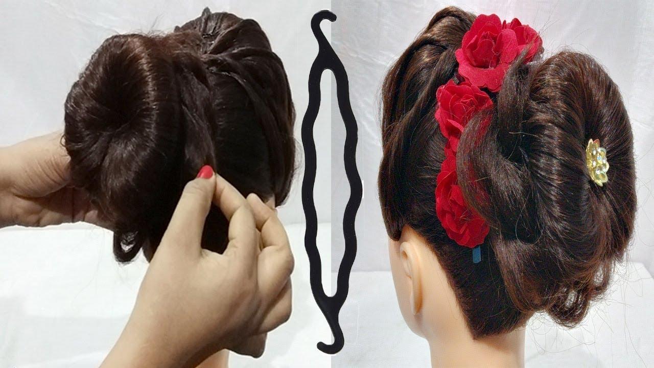 Easy juda hairstyle using magic hairlock  hair style girl  hairstyles  for girls  Hairstyle