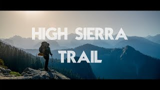 7 Days on the High Sierra Trail (August)