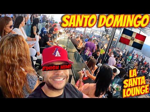 SANTO DOMINGO PARTY AT LA SANTA LOUNGE WAS CRAZY!!! | DOMINICAN REPUBLIC VACATION VLOG