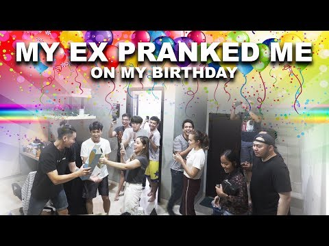 GOT PRANKED ON MY 24TH BIRTHDAY!!