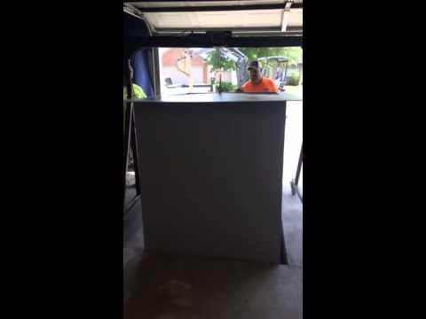 Garage Floor Storm Shelter Installation | Shelter Solutions Of Arkansas