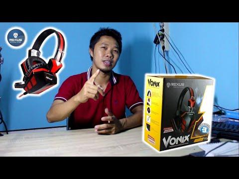 UNBOXING & REVIEW LENGKAP REXUS VONIX F22 | Headset Gaming & Multimedia (Murah Tapi Tak Murahan)