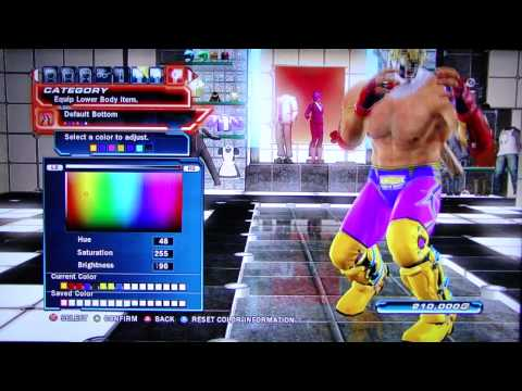 Tekken Tag Tournament 2 - King Character Customization
